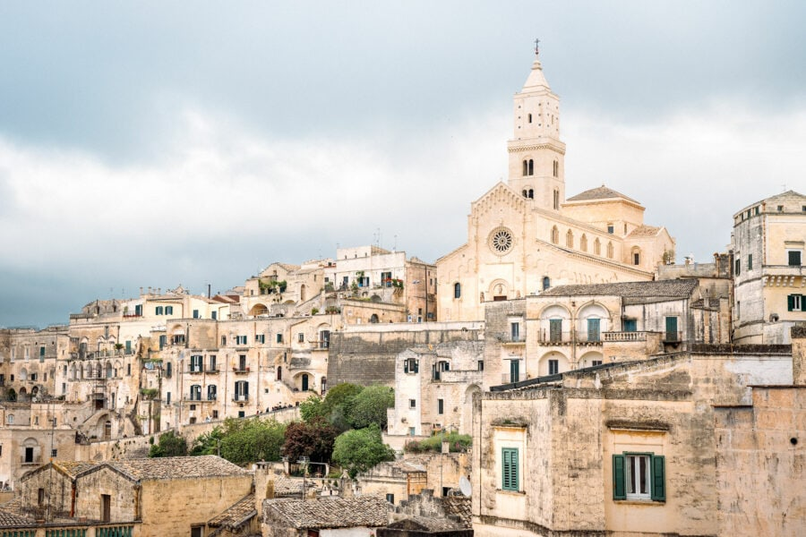 Main Cathedral in Matera