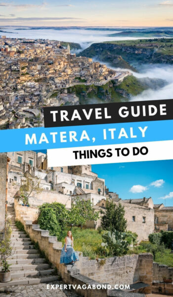 Learn what to do in Matera, Italy during your visit to the city of caves. #TravelTips #Matera #Italy #Travel