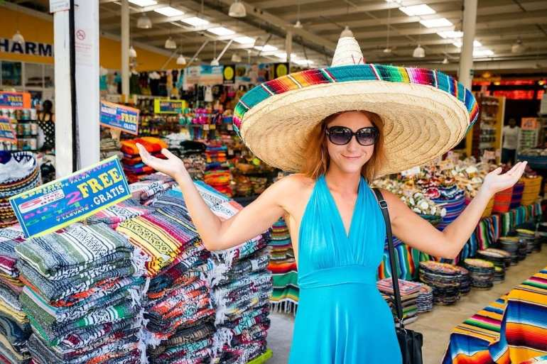 Playa del Carmen in the Yucatan