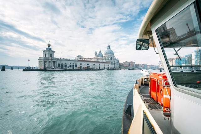 Water Taxi on Grand Canal