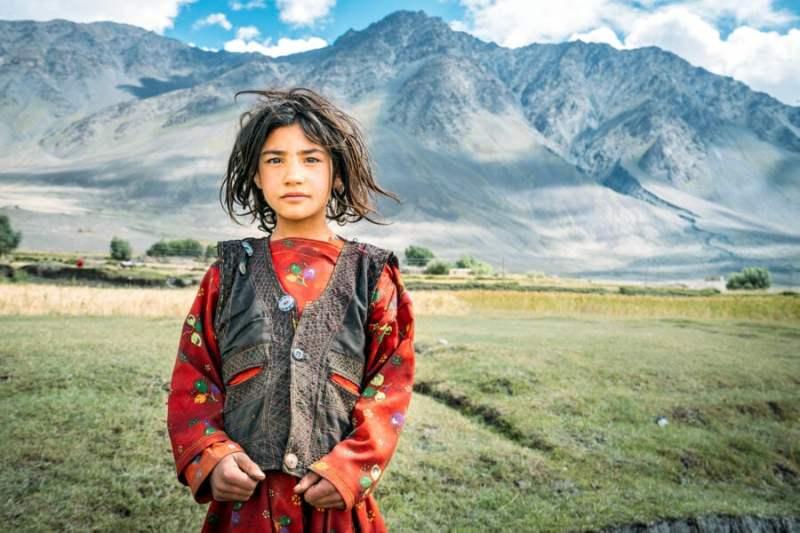 Afghan Girl in the Wakhan