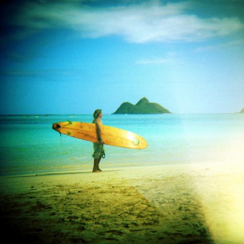 Surfer Lanikai