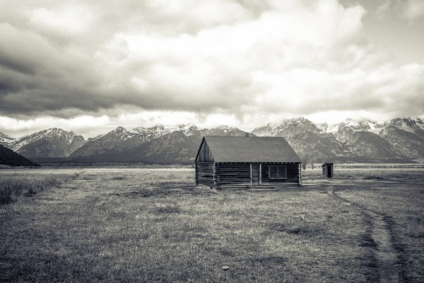 Mormon Row Cabin. Grand Teton National Park, WY. October 2015.