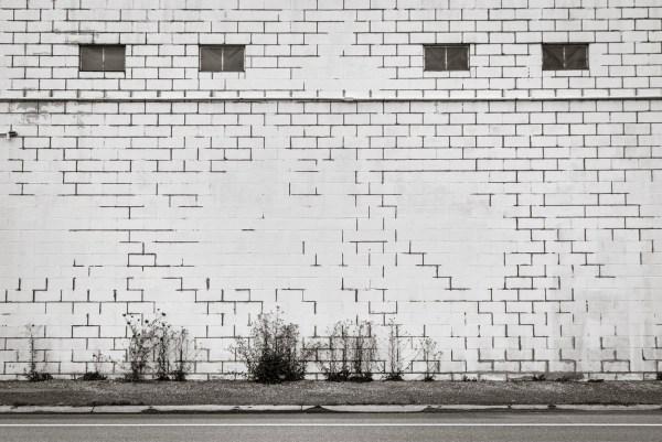 White Wall III. Syracuse, NY. July 2016.