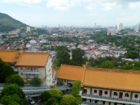 A terrifyingly steep trolley ride takes you up to Penang Hill, which offers panoramic views of the Strait of Malacca and the valley towns throughout Penang.