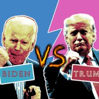 Biden vs Trump, united states presidential election 2020, american vote