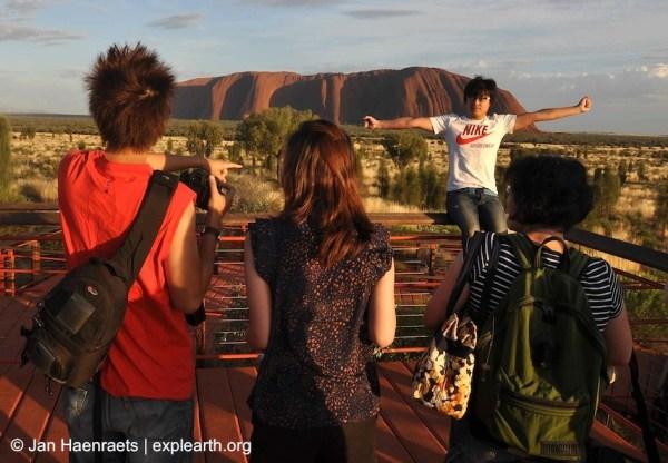 Sunrise at Uluru (Photo: Jan Haenraets, 2012).