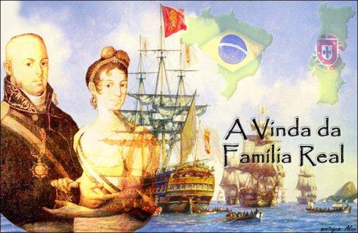 A vinda da Família Real para o Brasil