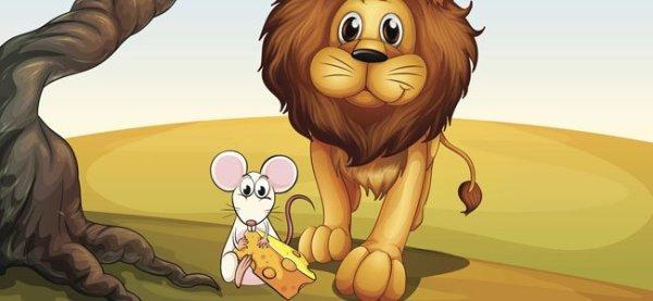 Fábula - O leão e o ratinho