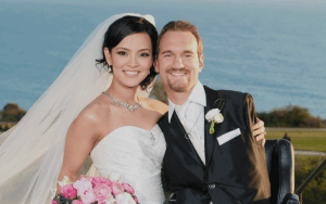 Nick Vujicic and his wife