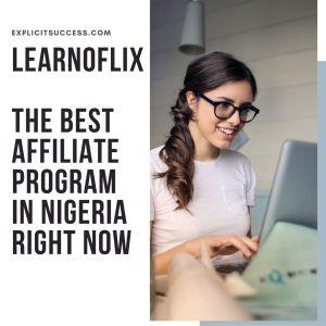 Best affiliate program in Nigeria