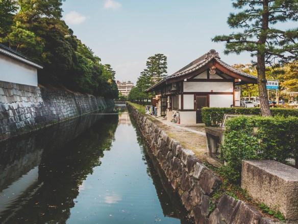 Nijo Castle's Moat
