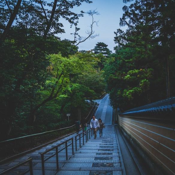 A couple at Kinkakuji