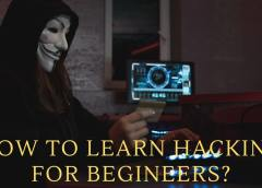 How To Learn Hacking For Begineers?