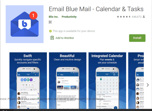 Bluemail Blue Mail