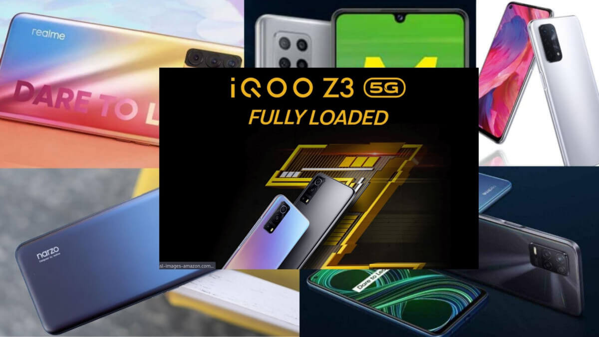 Top 6 5G Mobile Under 20000