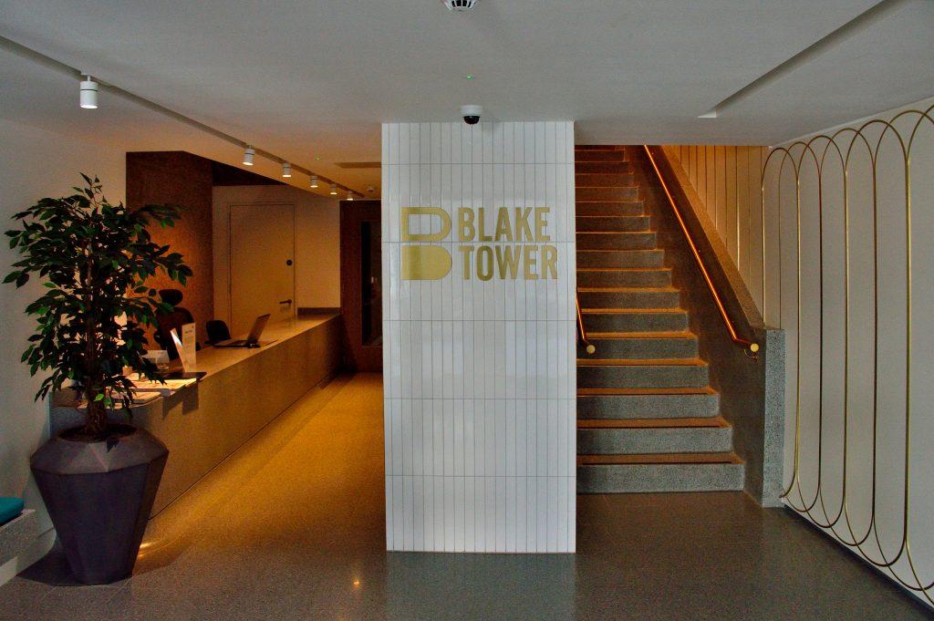 Blake entrance