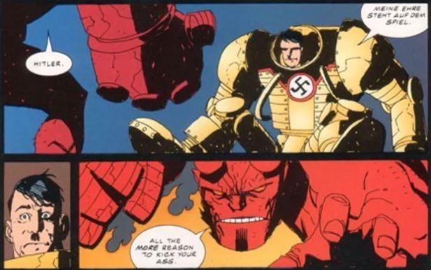 Hellboy v Nazis