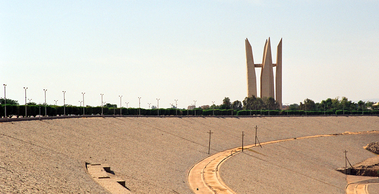 Aswan High Dam and the Monument to Egyptian-Soviet Friendship