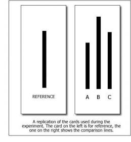 Asch Experiment - Figure 1