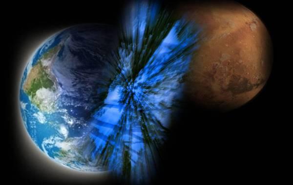 Teletransportación - Tierra a Marte