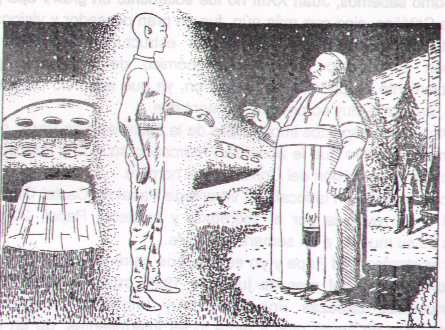 Influencia extraterrestre en la religión