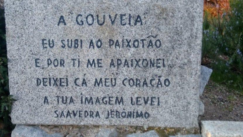 Poema no Jardim do Peixotão, em Gouveia