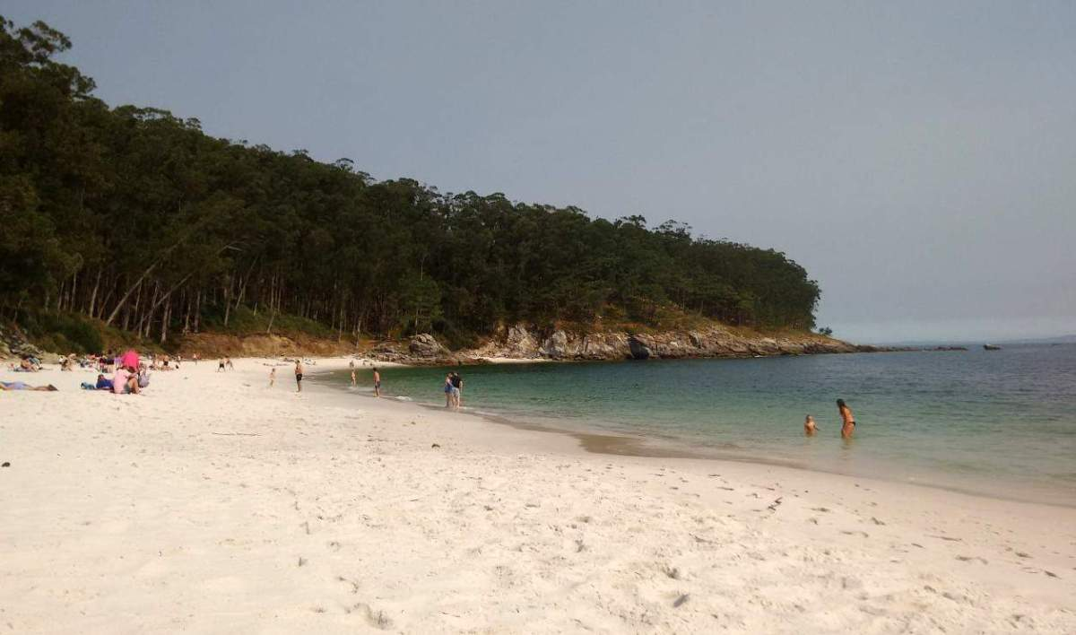Uma das praias das Ilhas Cíes