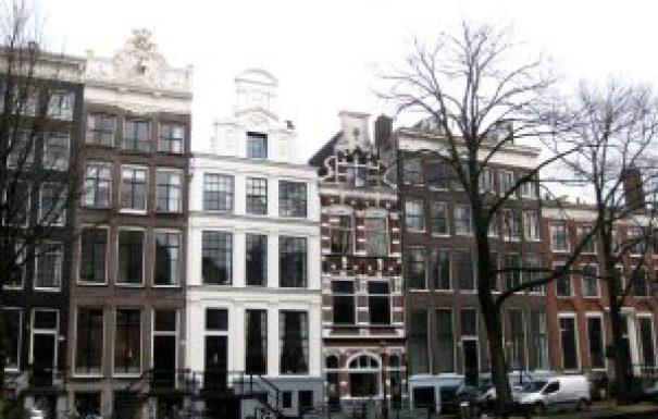 Casas e canais, Amesterdão