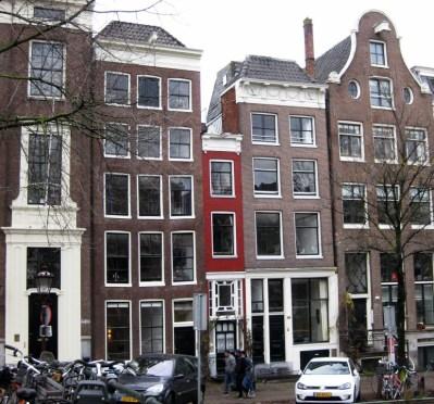 Casa mais estreita de Amesterdão