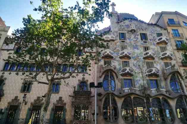 Casa Batlló, em Barcelona