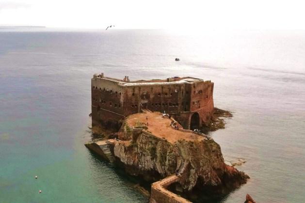 Forte de São João Baptista, na ilha da Berlenga