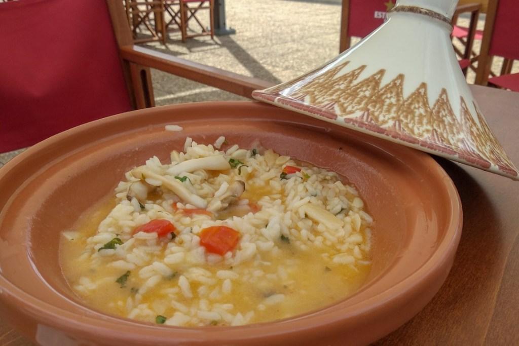 Visitar Porto de Mós - Gastronomia - Arroz de Lingueirão do Restaurante Pescatore