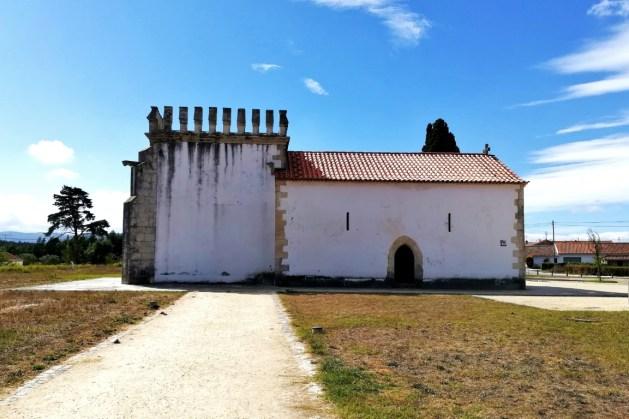 Capela de São Jorge no campo da Batalha de Aljubarrota, no CIBA, na Batalha