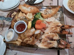 gambar seafood platter