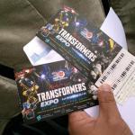 tiket ekspo transformers free