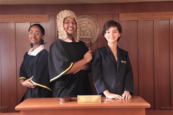 KidZania Kuala Lumpur - Courthouse