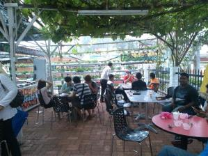 cafe ladang strawberry
