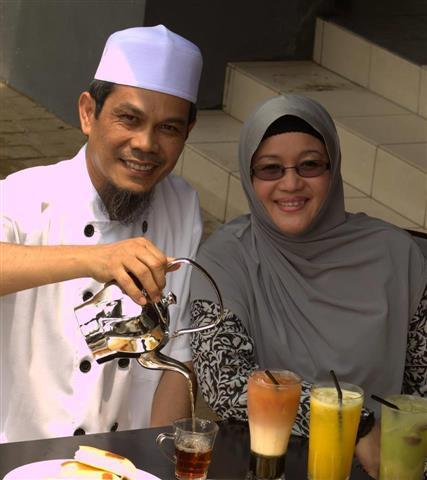 owner restoran aroma hijrah
