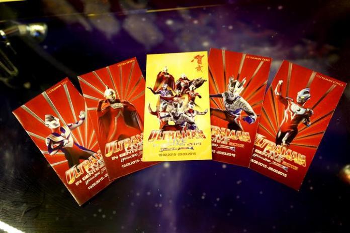 harga tiket ultraman live in genting 2015