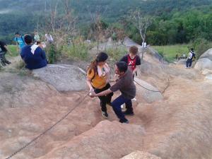 gambar lereng bukit broga