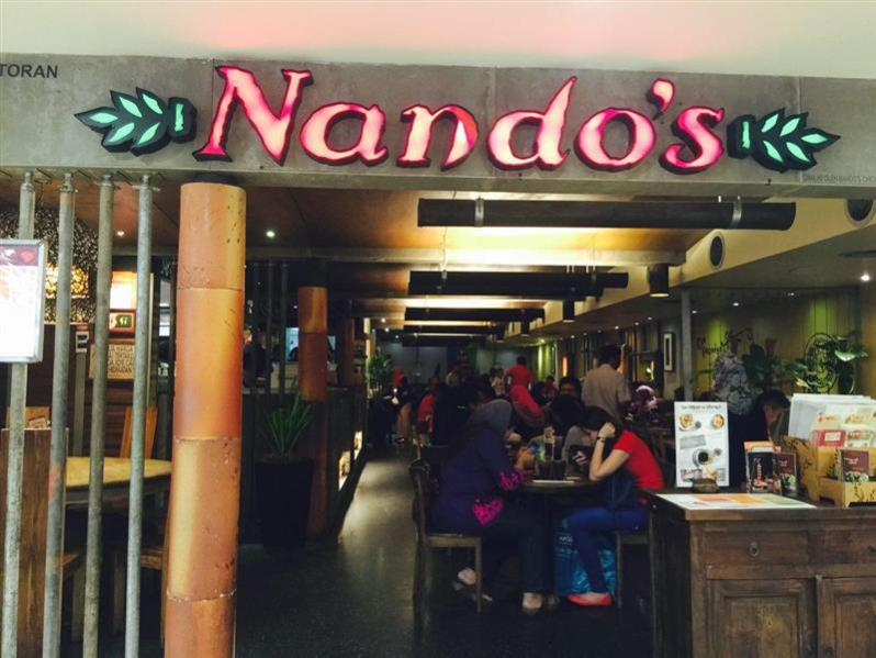 Restoran Nandos Chicken Plaza Massalam