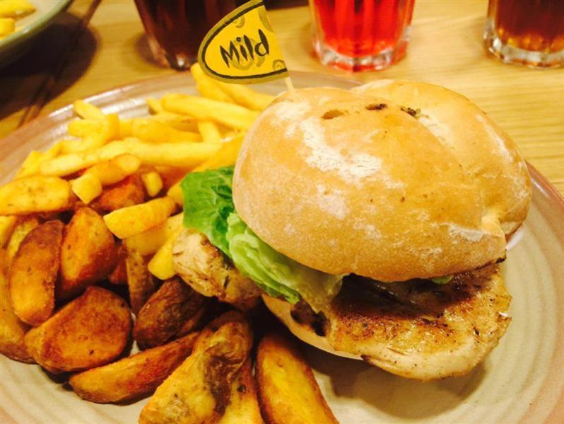 restoran nandos sunway putra mall burger 2