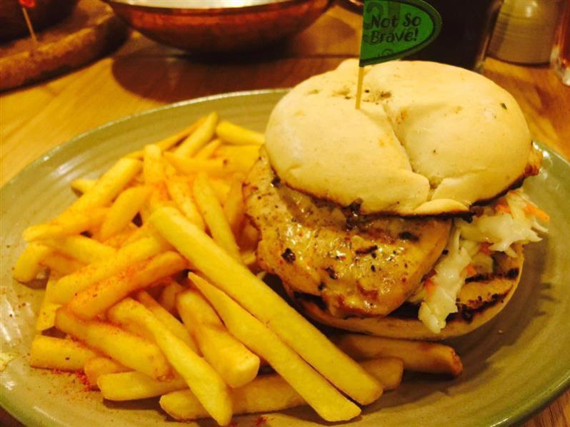 restoran nandos sunway putra mall burger 3