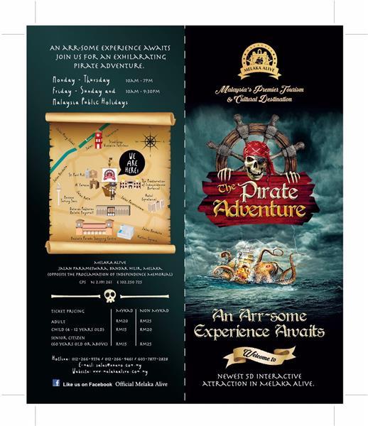 Pirate Adventure Brochure 2