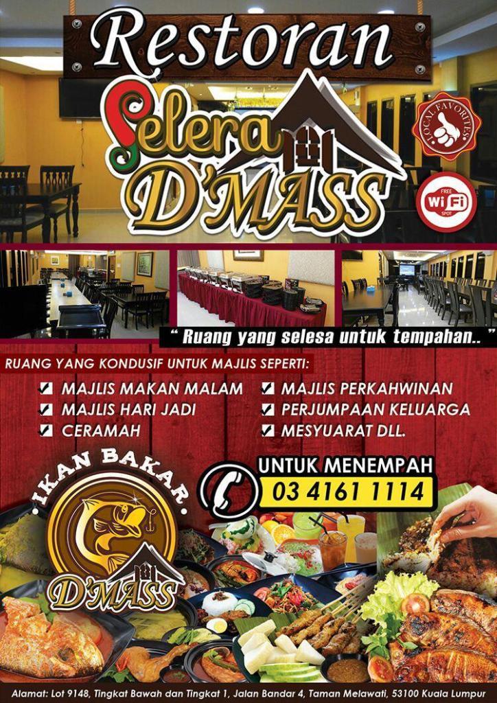 restoran-selera-dmass-buku-menu