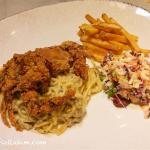 Fried-Soft-Shell-Crab-with-Carbonara-Spaghetti