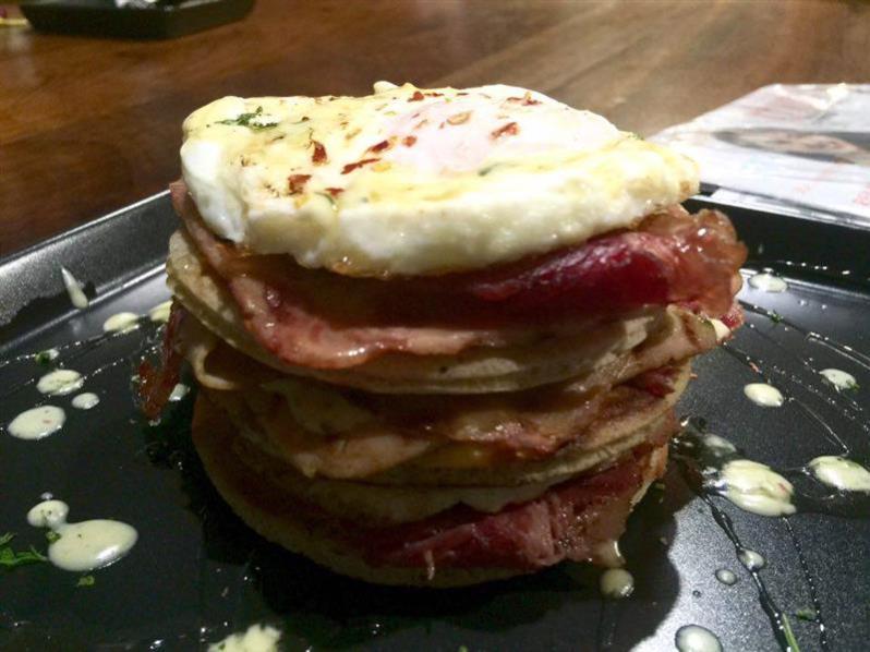Egg Ham Pancake