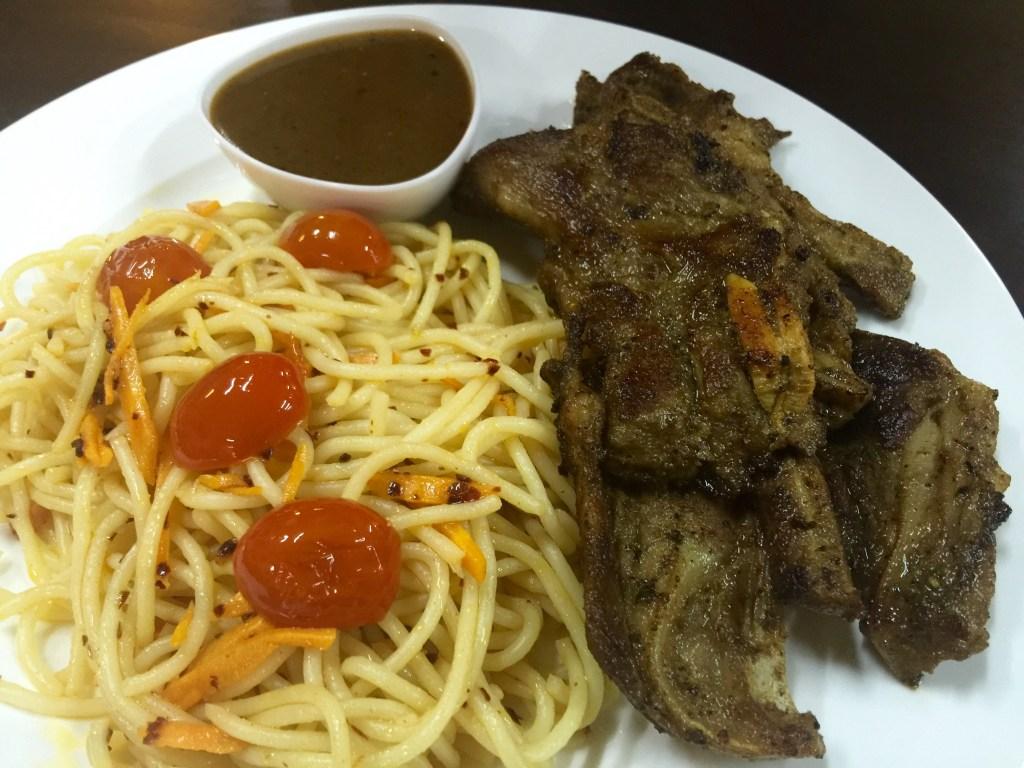 Lamb Chop with Spaghetti RM16.00