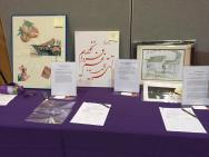 Beautiful artwork and calligraphy at the explorASIAN Silent Auction